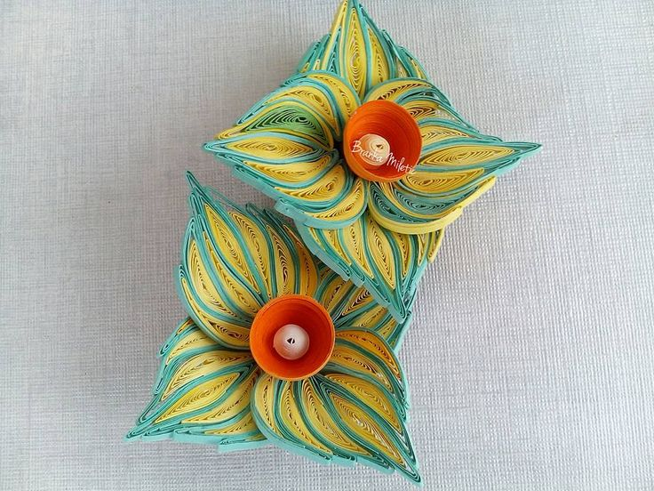 Quilled Flowers - by: Branka Miletic