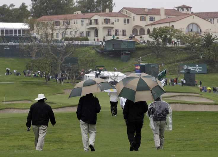 Riviera Country Club has plenty of history with rain at its annual PGA Tour stop each February, and that seems likely again this week.