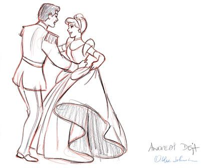 Cinderella - Development Art   Photos. Disney Insider.