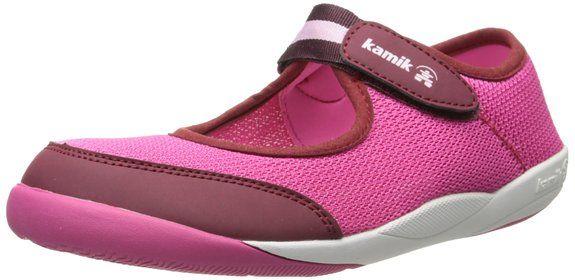 Kamik MARYJANE, Unisex-Kinder Sneakers, Pink (FUSCHIA/FUS), 34 EU