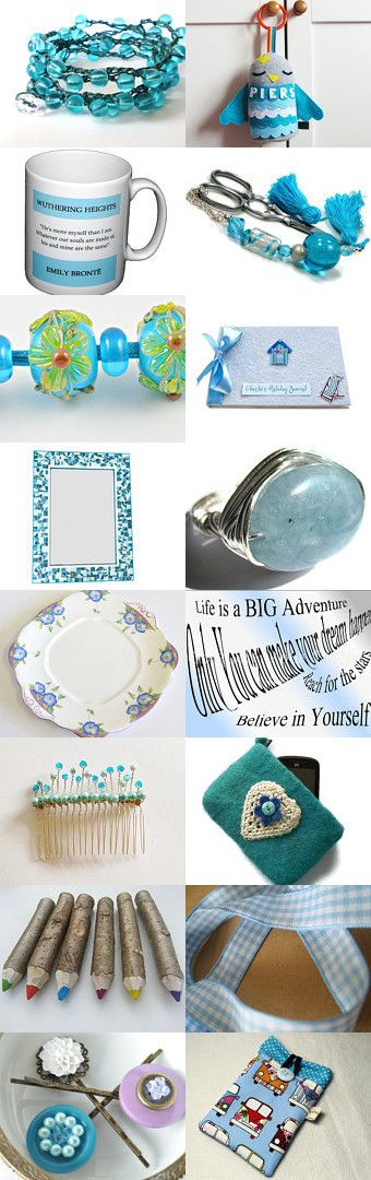 Summer Blue by Carolyn Ford on Etsy--Pinned with TreasuryPin.com