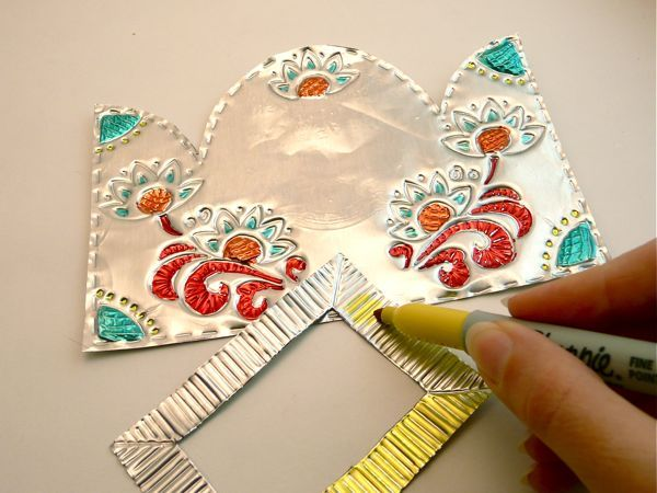 399 Best Images About Aluminum Can Crafts On Pinterest