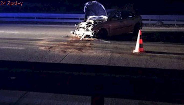 Nedělní horor: Řidič sjel u Brna na dálnici D2, jenže do protisměru. Ujel jedenáct kilometrů, potom havaroval!