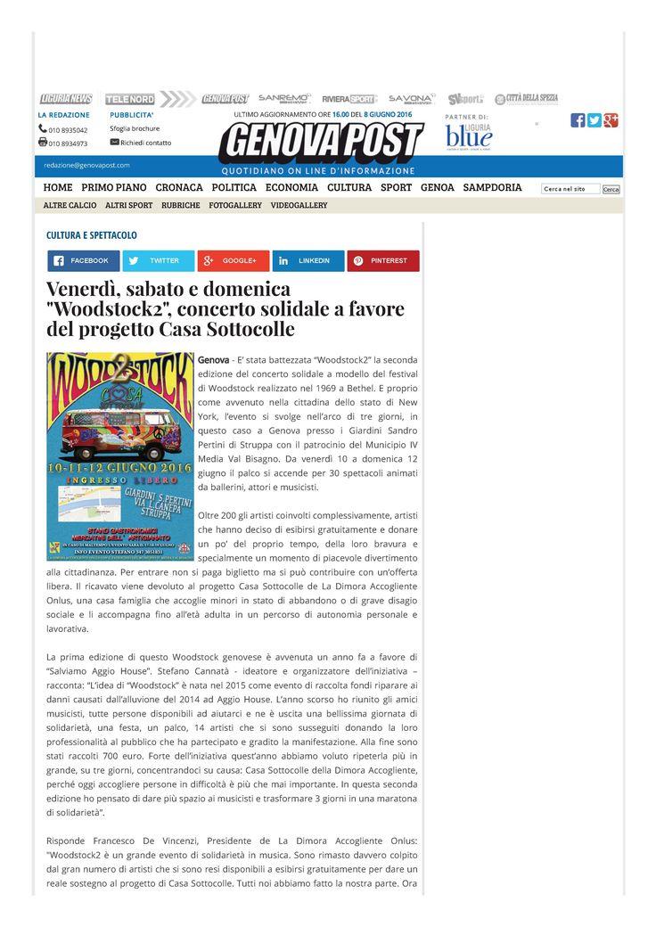 Genova Post - 8 giugno pag. 1/2