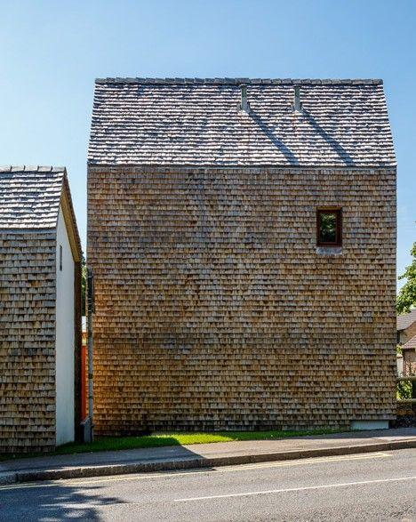 Ash Sakula designs mews houses for rural eco development.