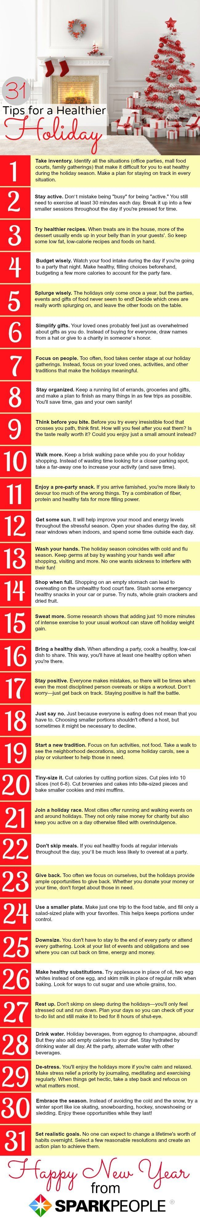 31 Tips For A Healthier Christmas Get A Carbon Monoxide