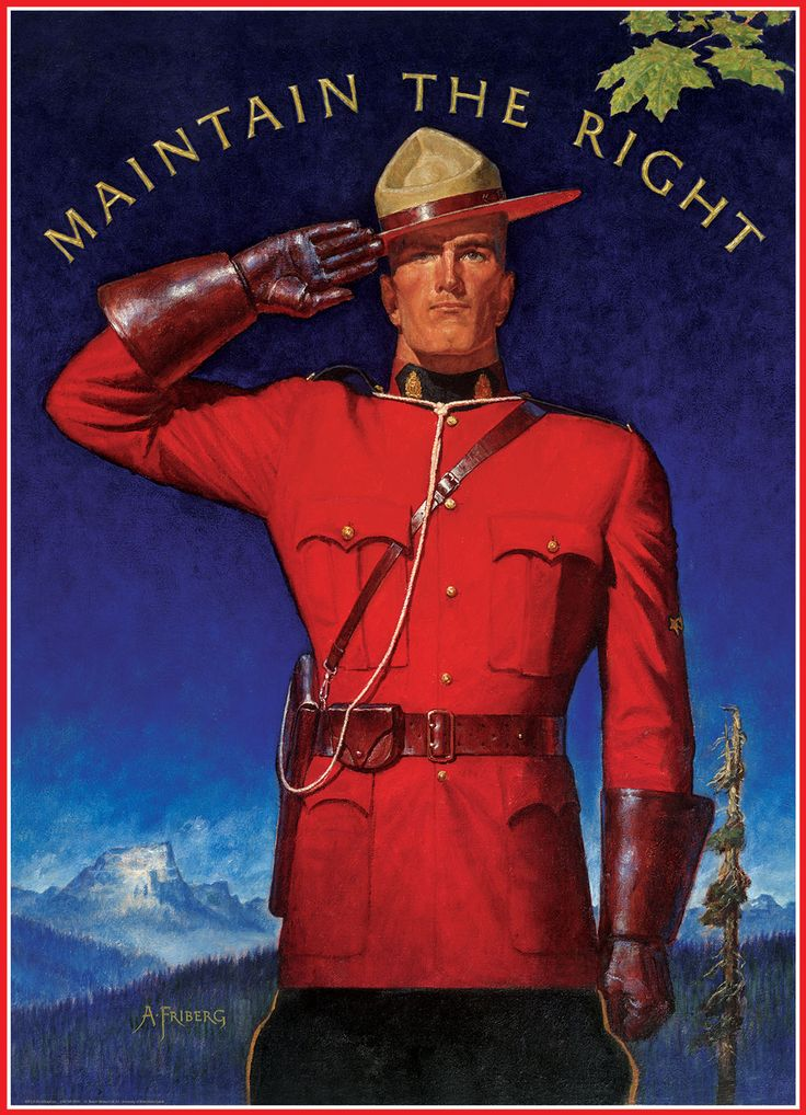 Royal Canadian Mounted Police Maintain the Right