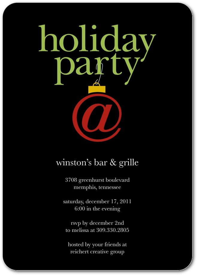 8 best Funny Christmas Party Invitations images on Pinterest ...