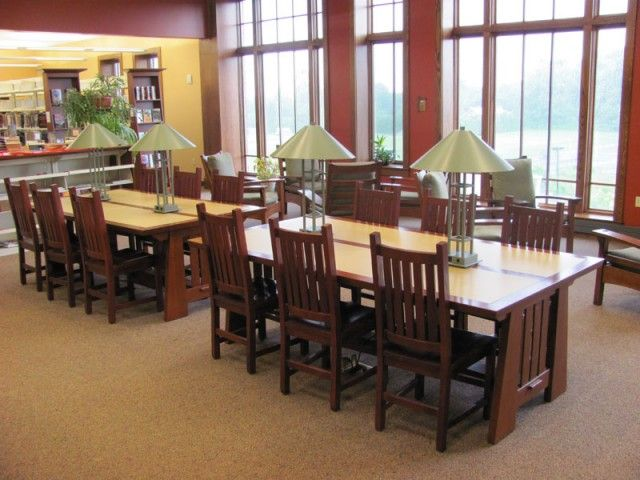 Library Tables And Other Library Furniture From The Top Library Furnishing  Manufacturers.