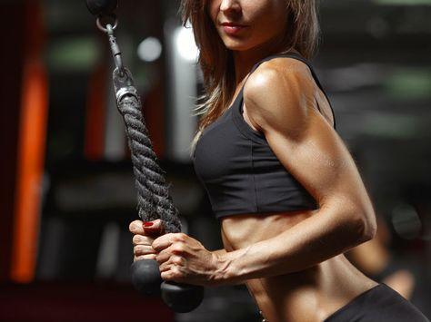 Esta es la forma correcta de tomar glutamina para marcar el músculo