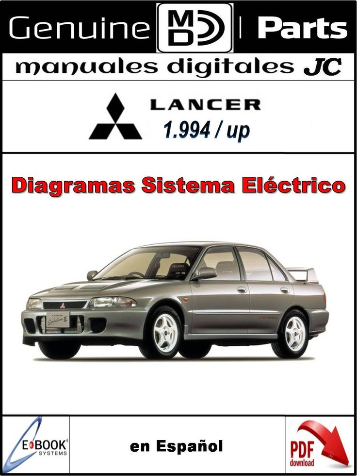 10 best manuales de cableado y sistema elctrico images on manual diagramas del sistema elctrico para el mitsubishi lancer 1994 up correo manualesdigitalesjc fandeluxe Images