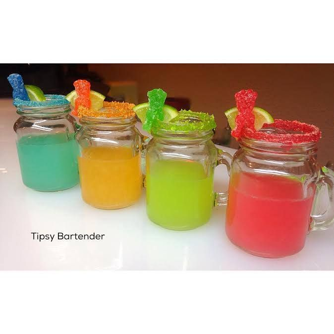What goes best with Tequila? Sour Patch Gummies!  For the recipe, visit us here: http://www.tipsybartender.com/blog/sour-patch-tequila-shots