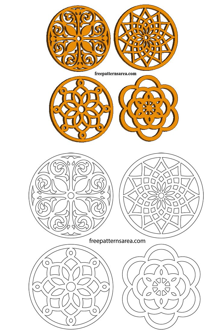 Easy Scroll Saw Trivets Free Pdf Woodworking Art Patterns