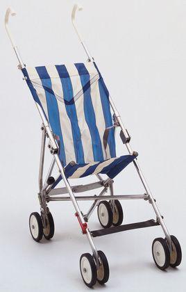 la poussette canne MoMA | The Collection | Owen F. Maclaren. Baby Stroller. 1966
