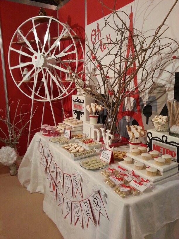 Dise o y decoraci n de eventos sevilla mesa dulce par s - Decoracion sevilla ...