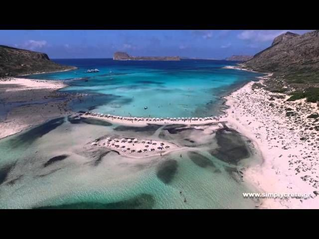 Video Journeys: The lagoon of Balos
