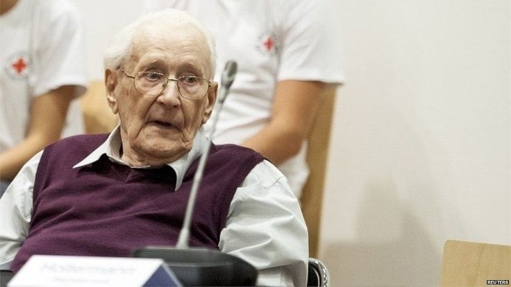"""Auschwitz guard Oskar Groening admits role at camp. The former SS guard being tried for accessory to murder has admitted that he helped Auschwitz function by sorting cash and valuables seized from Jews. But Oskar Groening, known as the bookkeeper of Auschwitz, denied helping to facilitate the murders of 300,000 people at the death camp. The court heard of his """"indoctrinated obedience"""" which he said prevented him from """"registering the atrocities"""". He faces up to 15 years in prison if…"""