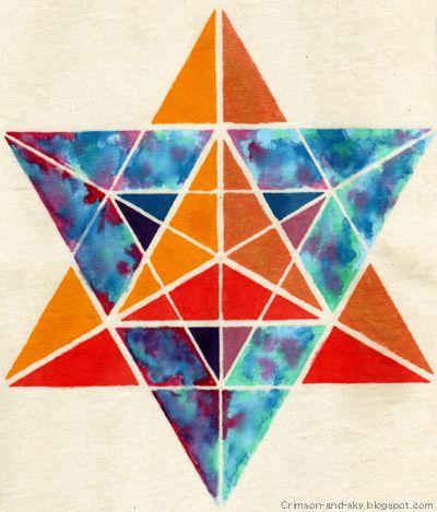 Sacred Geometry / Merkaba / Excellence Strength by Sarjana Sky, via Flickr