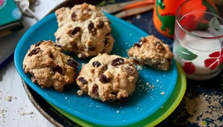 Try these light, crumbly tea-time favourites while they are still warm from the oven. So easy to make, and lots of fun for children to join in too.