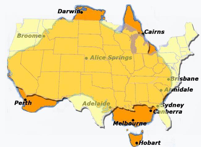 Sydney, Gold Coast, and Melbourne.