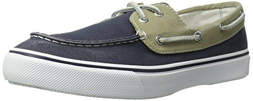 Hunting- Sperry Top-Sider Men's Bahama 2 Eye Boat Shoe, Khaki/Oyster, 10 M US * You can get additional details at the image link.