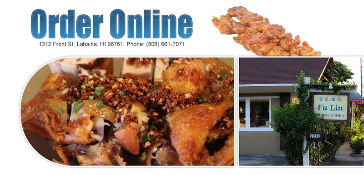 View Fu Lin Chinese Restaurant menu, Order Chinese food Pick up Online from Fu Lin Chinese Restaurant, Best Chinese in Lahaina, HI