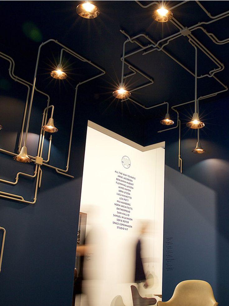 Modulare Designleuchte für Wände und Decken: AND TRADITION Lightforest…