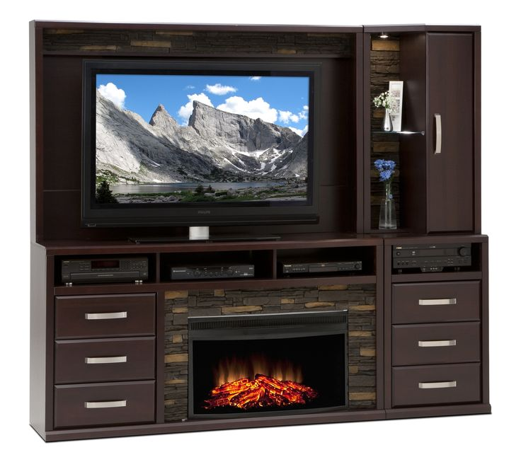 Gamble Entertainment Wall Units Collection - Leon's