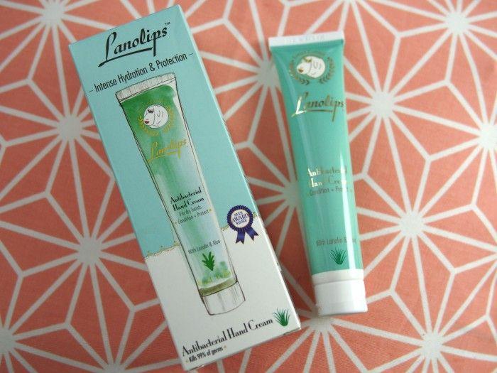 Lanolips- 2 in 1 anitbacterial handcream Essie Button - UK Beauty Blogger