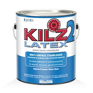 Kilz original primers specialty paints concrete care for Household cement
