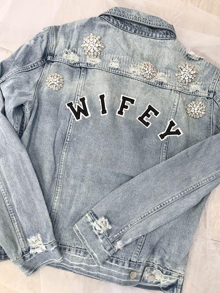 Wifey Denim Jacket | One Day Bridal