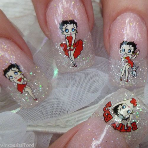 Betty Boop Nails: 191 Best Betty Boop Fashion Images On Pinterest