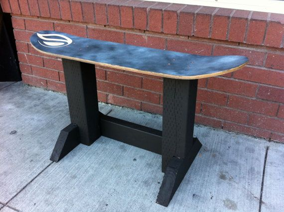 Used Skateboard Deck Chair or Decorative Stool $35.00