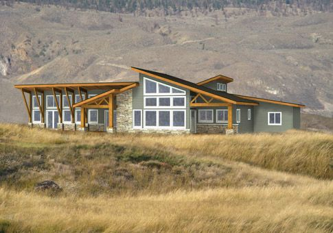 This new Linwood custom home package is a modern masterpiece. It has green living attributes and enhances any natural setting.