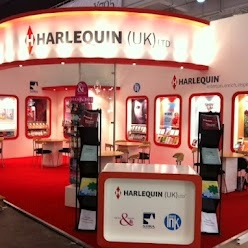 The @Harlequin Books stand at The London Book Fair 2012