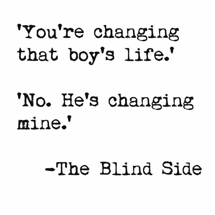 The Blind Side quote