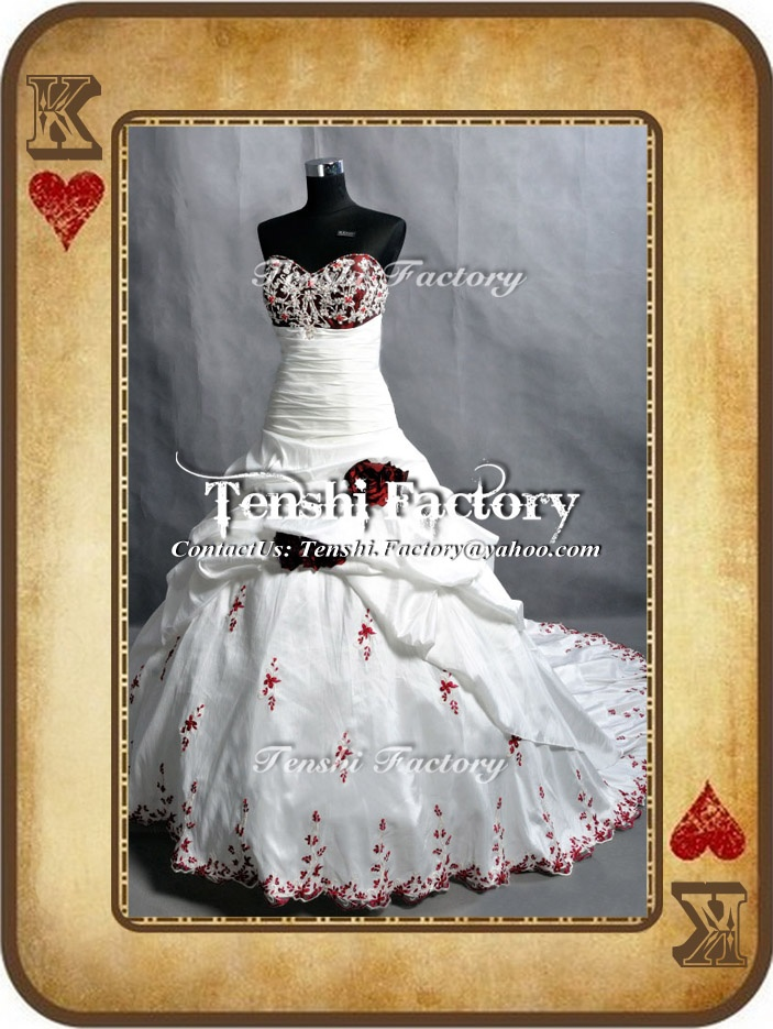 We are Party & Wedding Dresses Tailor. We can create a lot of type of dresses and we always try our best to make your dream come True. =) We accept order from customers around the world  our blog: tenshifactory.blogspot.com