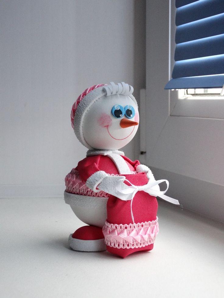 Снеговик-дед Мороз