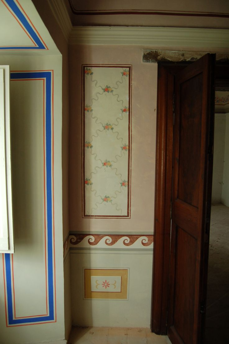 Decorazione parietale.Casale Umbria