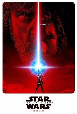 Star Wars The Last Jedi 2017 Movie Poster A1 plus 24x36 inches large Print in DVDs, Films & TV, Film Memorabilia, Posters | eBay