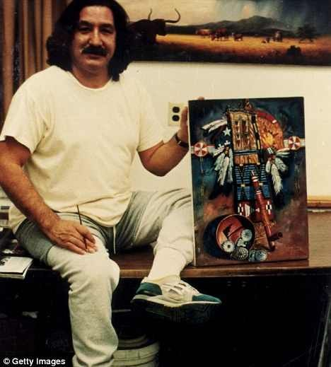 The martyrdom of leonard peltier for the american indians