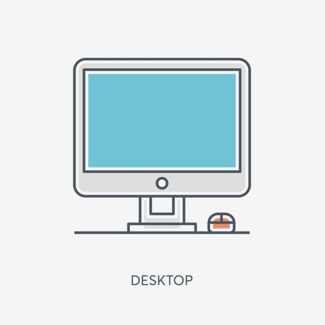 Office Computer Small Computer Cartoon Computer Cartoon Icon Cartoon Pattern Cartoon Illustration Small Icon Computer Icon Free Illustrations Office Icon