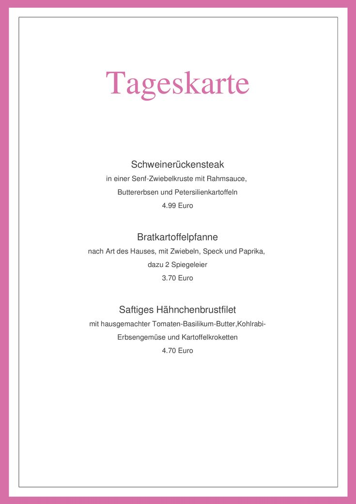 63 Best Menu Card, Todays Menu, Speisekarte, Tageskarte Images On   Dessert  Menu  Dessert Menu Template