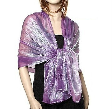 Purple Shawls and Wraps