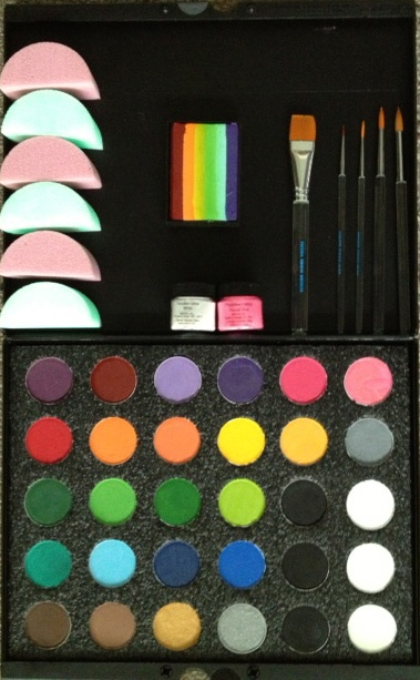 Top 25 ideas about face painting setups gear and all the for Face paints supplies