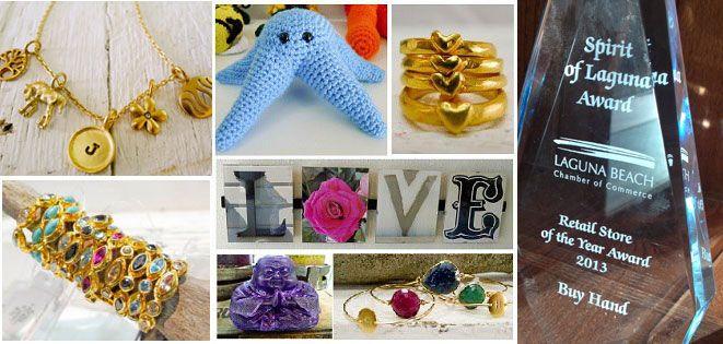 Custom made, #handmade, #oneofakind, #lagunabeach #winner of the best retail store in #laguna