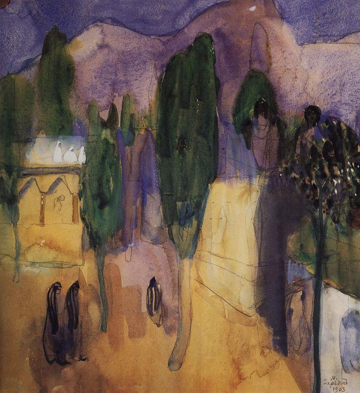 Martiros Saryan (1880-1972) Oriental Fairy Tale, 1903