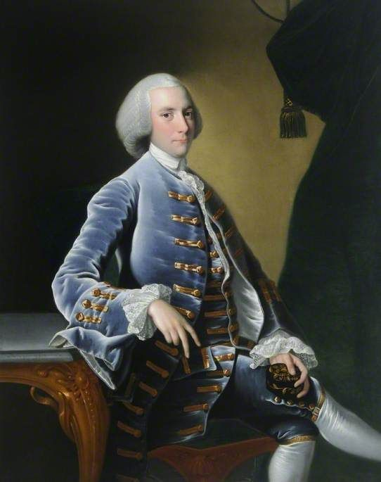 William Pigot (1729–1782) by Joseph Wright of Derby, 1760