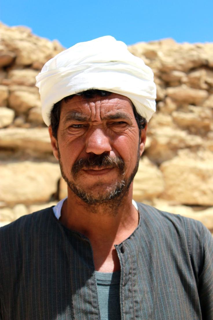 Desert fighter at Saqqara, close to Cairo