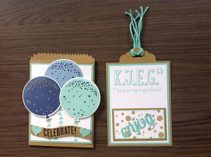 Celebrate today, mini treatbag thinlit dies, KJEG, Stampin'Up